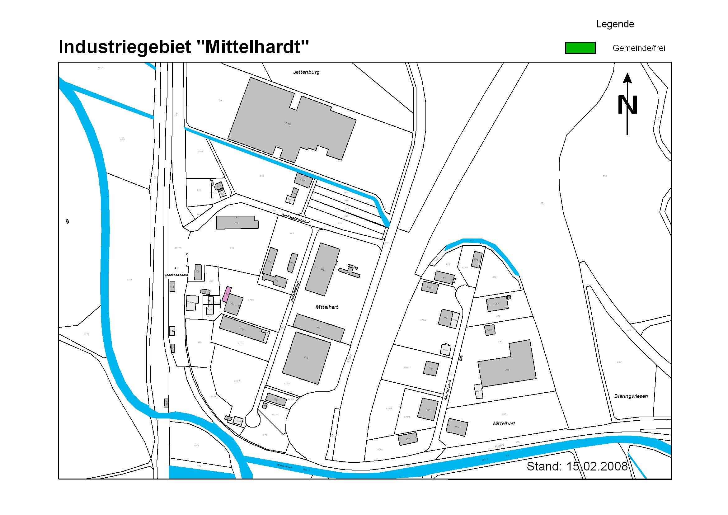 Industriegebiet Mittelhardt