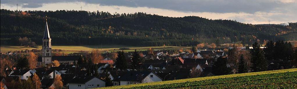Herbst über Deißlingen