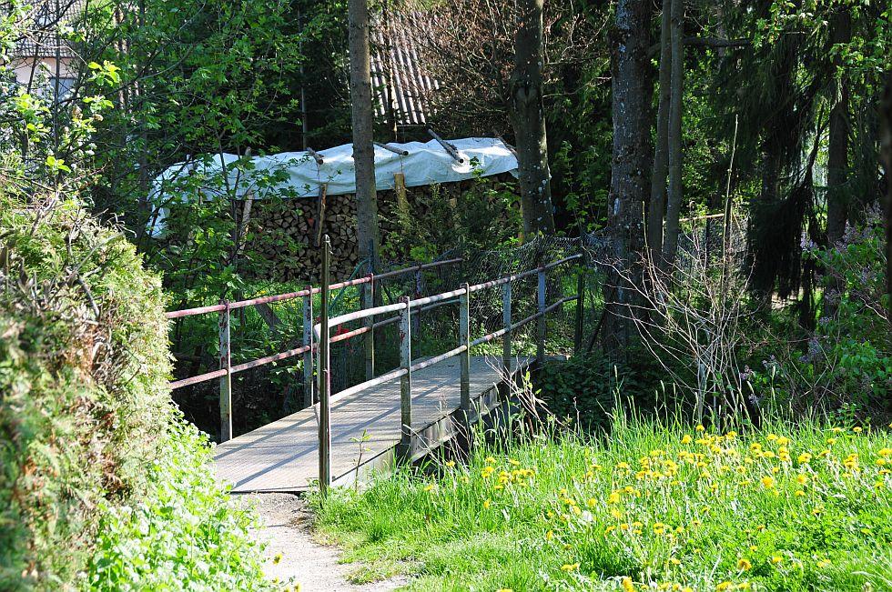 Fussgaengerbrücke Deisslingen