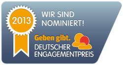Nominierung Deutscher Engagementpreis