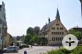 Rathaus von Kirchbergstraße aus