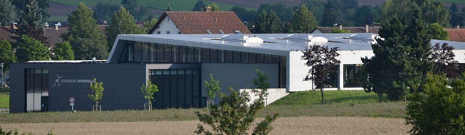 Volksbanksporthalle in Deißlingen