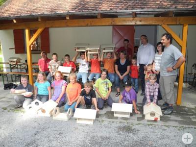 Kinderferienprogramm 2011 Neckartäle