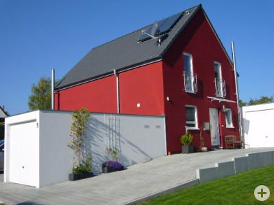 Haus für die junge Familie