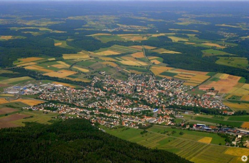 Luftbild Deisslingen 2010