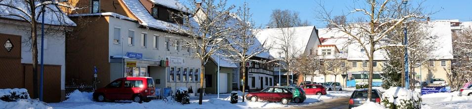Winter in der Gupfenstraße